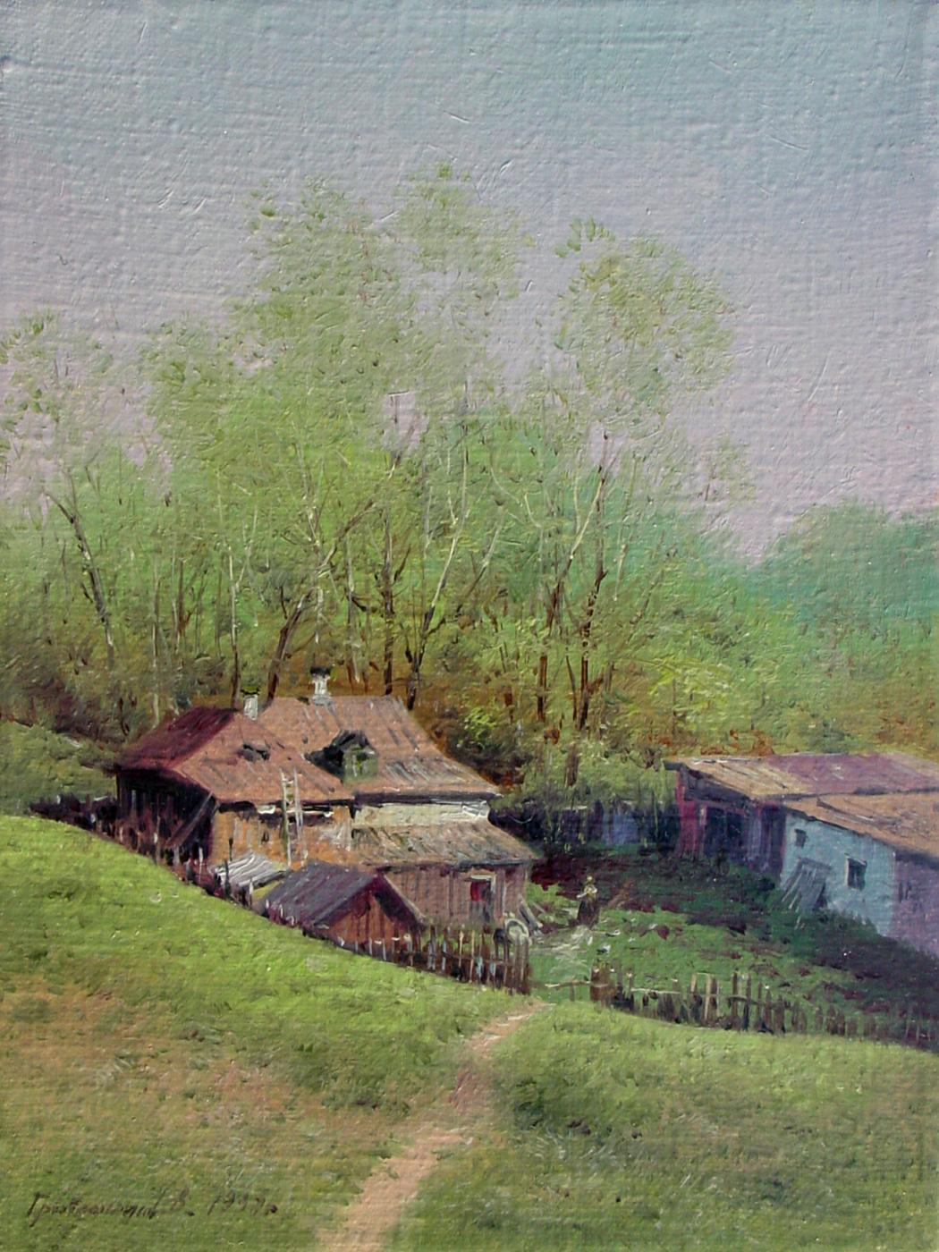 Vasily Ivanovich Gribennikov. May. Rostov the Great