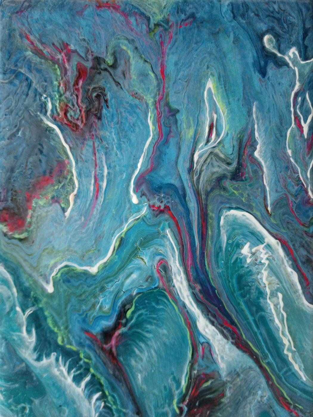 Vasiliy Mishchenko. Abstract 0232 Acrylic