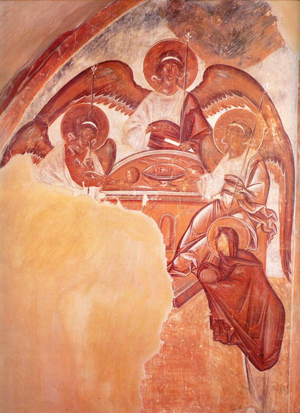 Theophanes Greek. The Old Testament Trinity