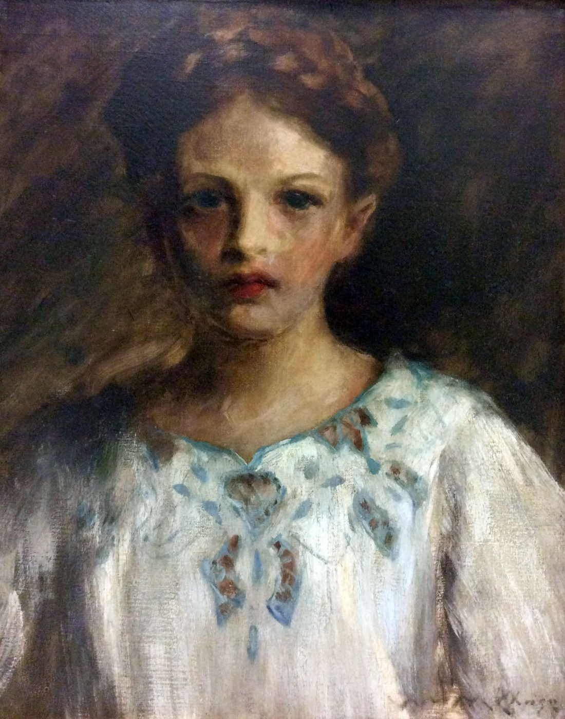 William Merritt Chase. Portrait of Baroness IDA-Gro van Dahlerup