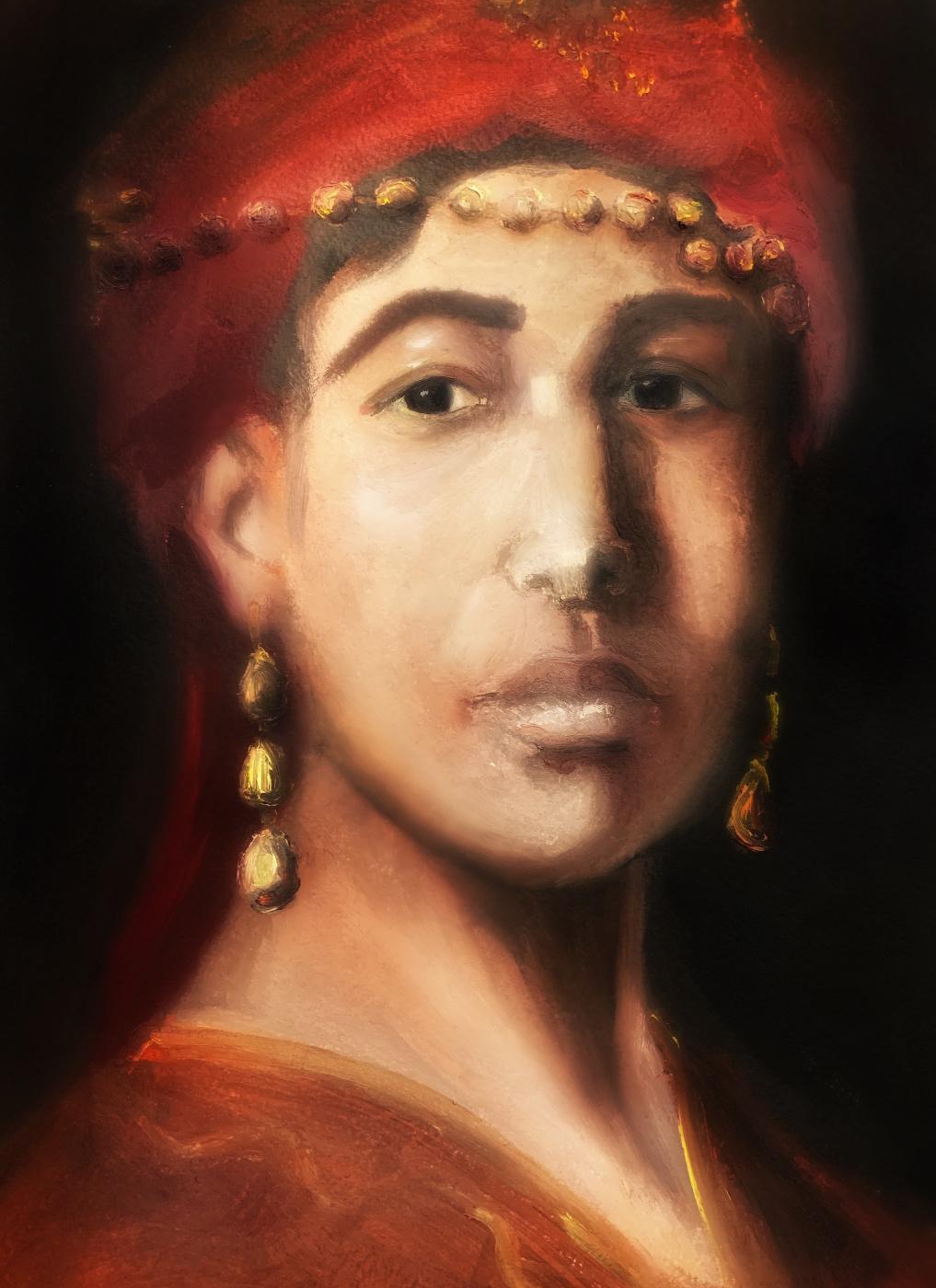 Irina Tabolova. An Algerian