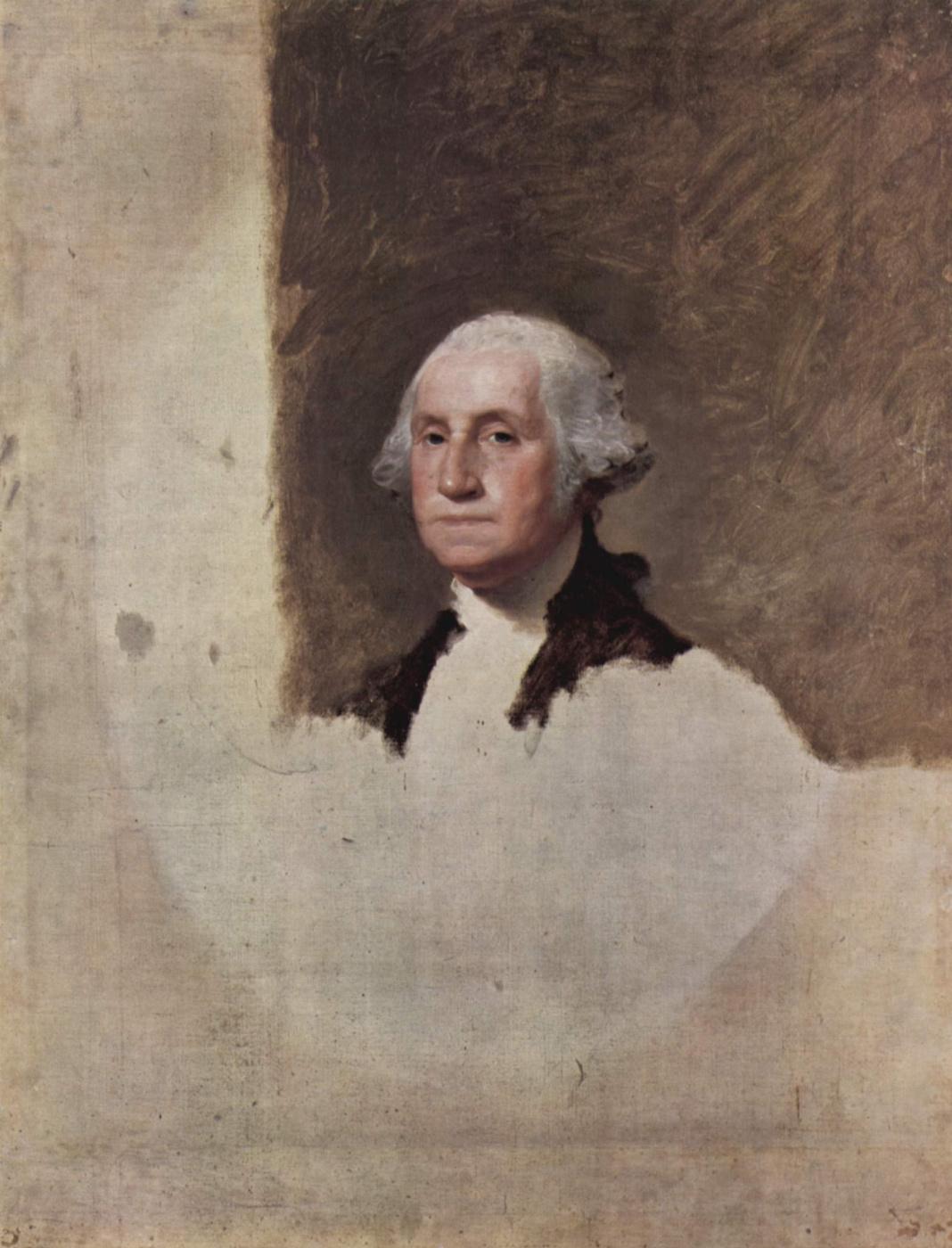 Gilbert Stuart. Portrait Of George Washington