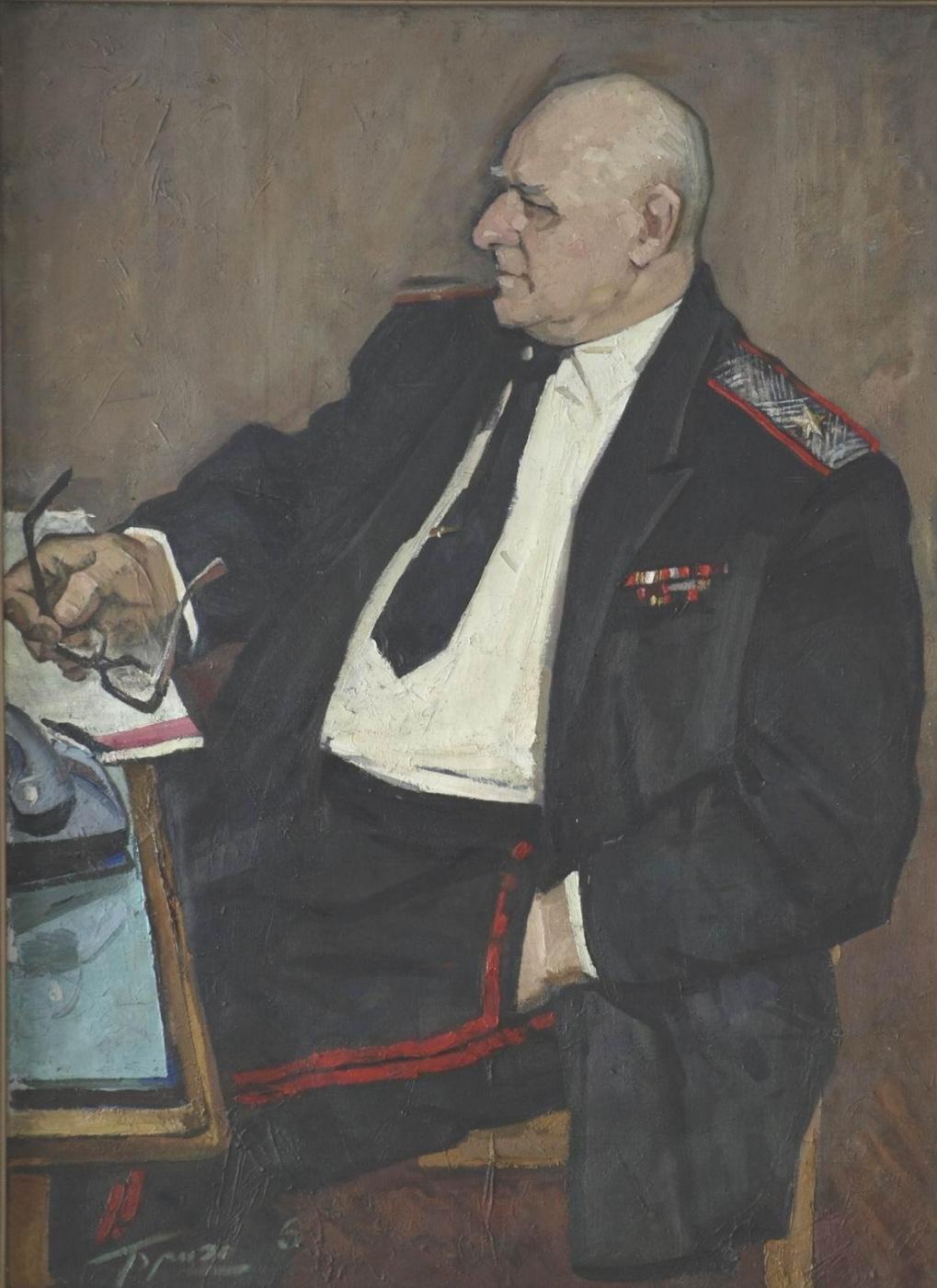 Eugene Ivanovich Brigadirov. Portrait Capicia I. I., General-major of medical service