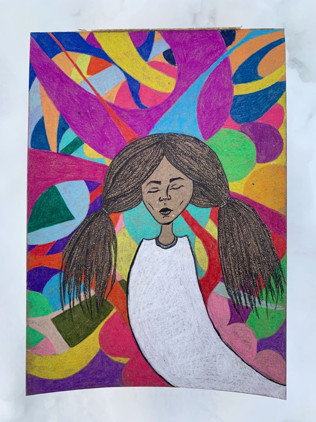 Yesenia Auluts. In this abstract life, I want to be myself