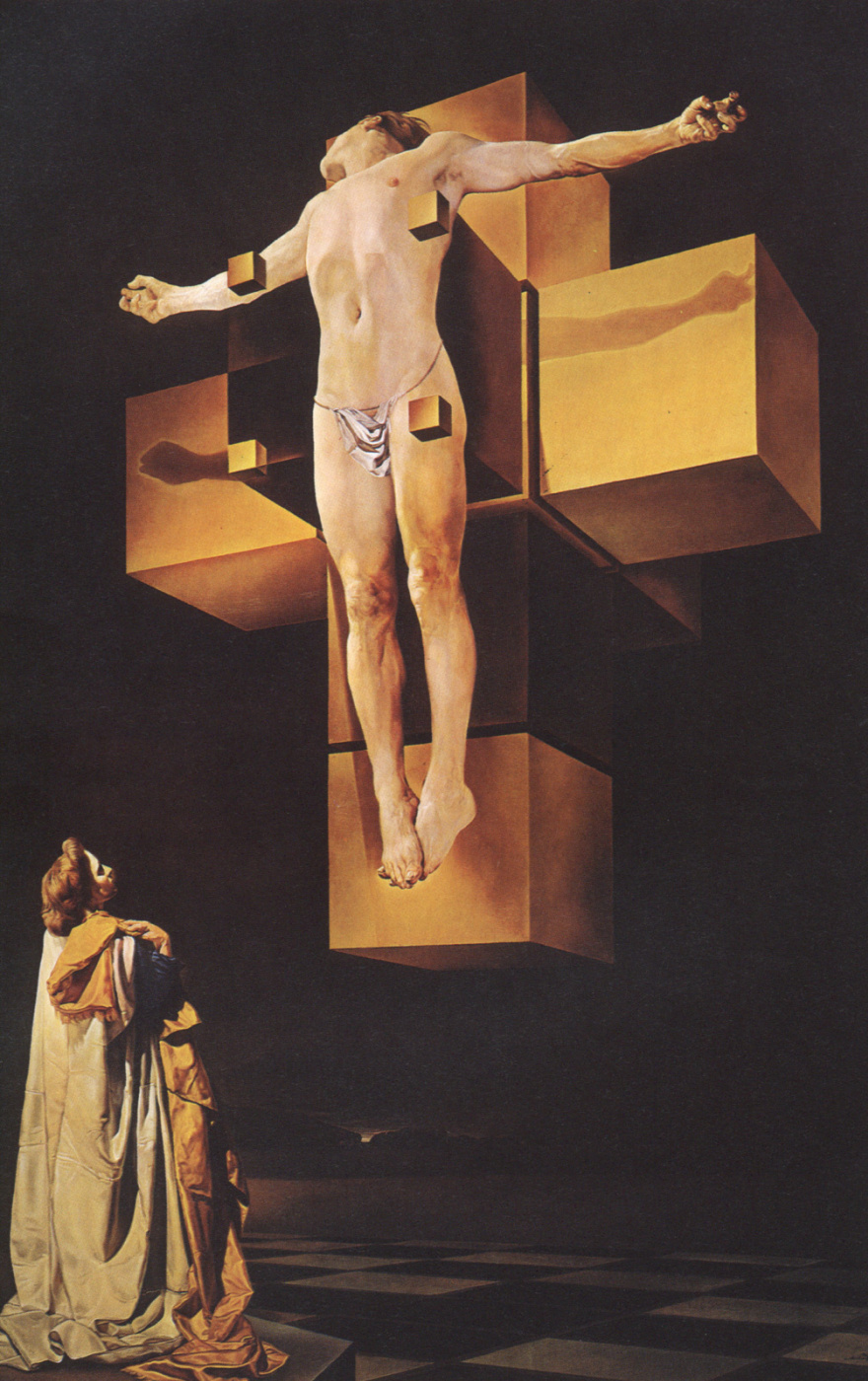 Salvador Dali. The crucifixion. Giperbolicheskoi body