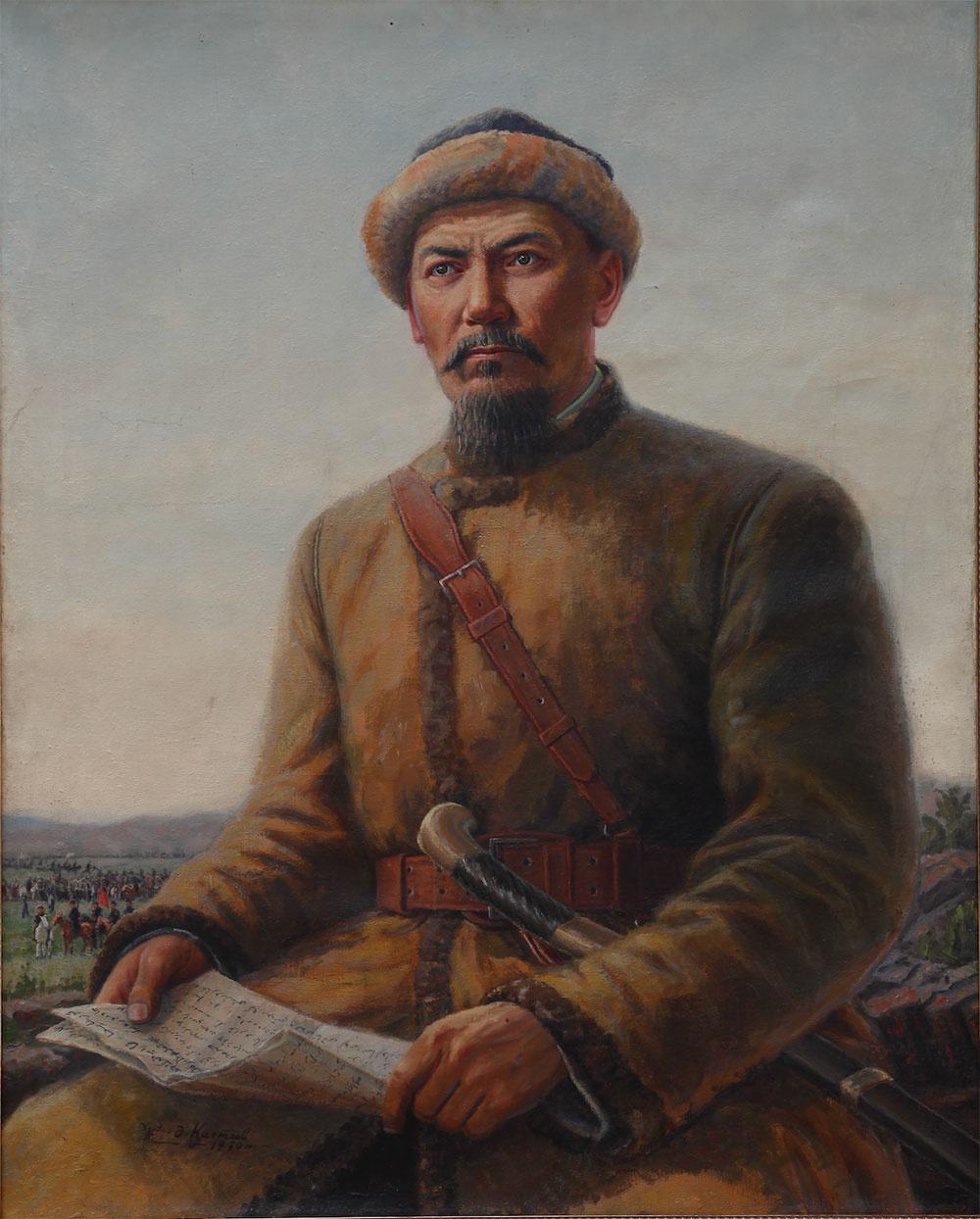Abylkhan Kasteevich Kasteev. Amangeldy Imanov