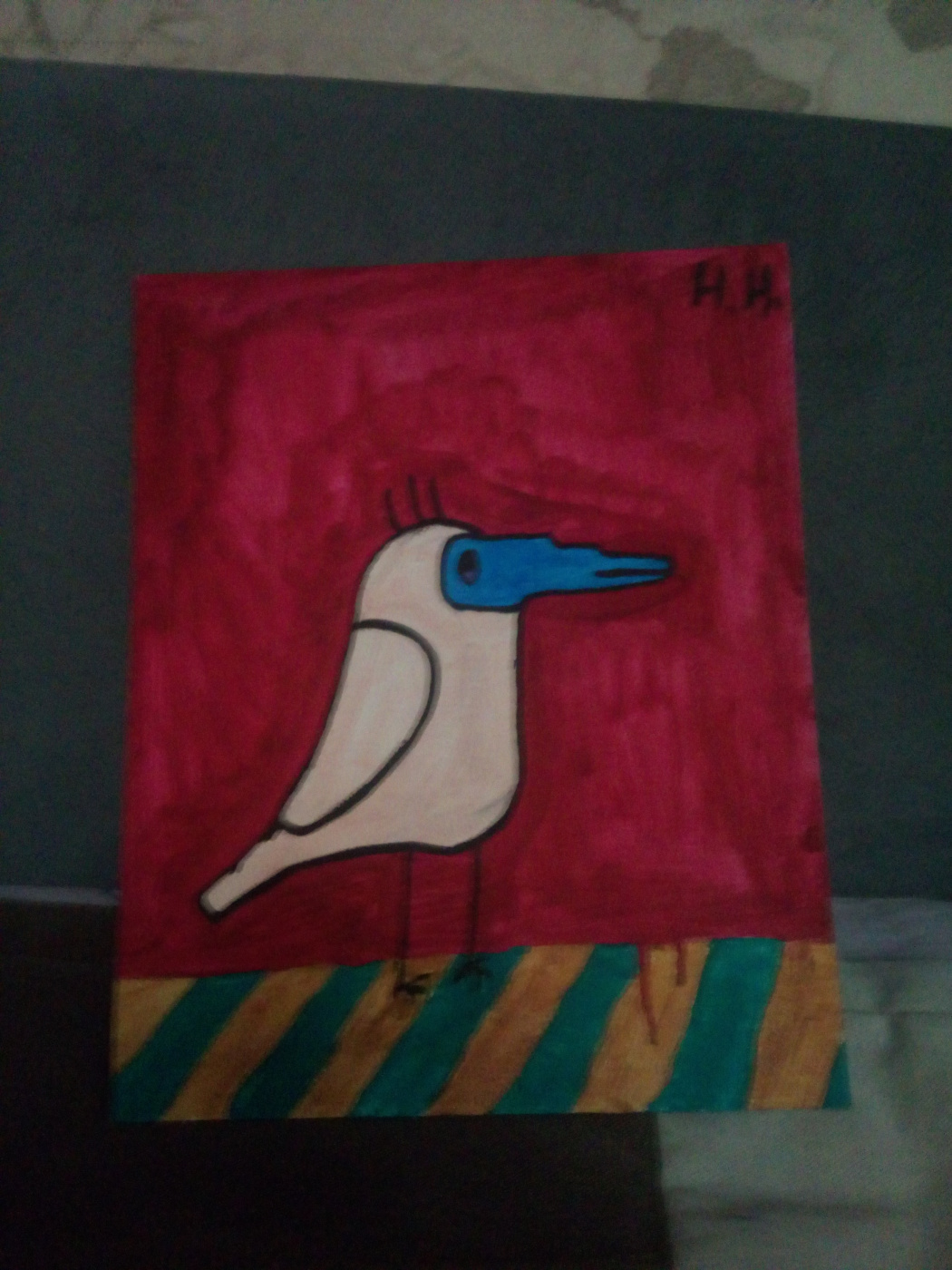 Nikita Nosolev. Little bird