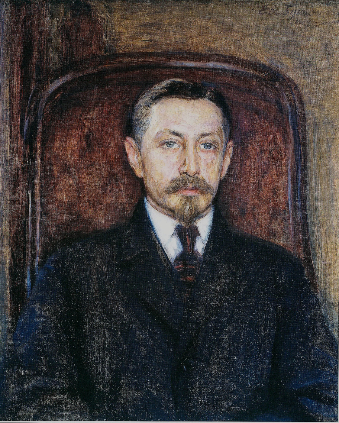 Евгений Иосифович Буковецкий. Portrait of Ivan Bunin
