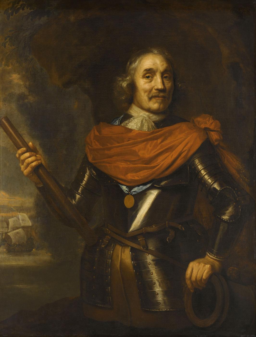 Jan Lievens. MAart Harperts Tromp, Vice-Admiral