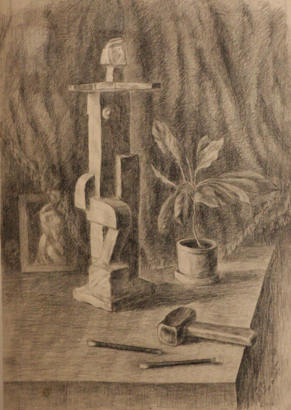 Oleg Vasilievich Yakhont. In memory of the sculptor Boris Korolev