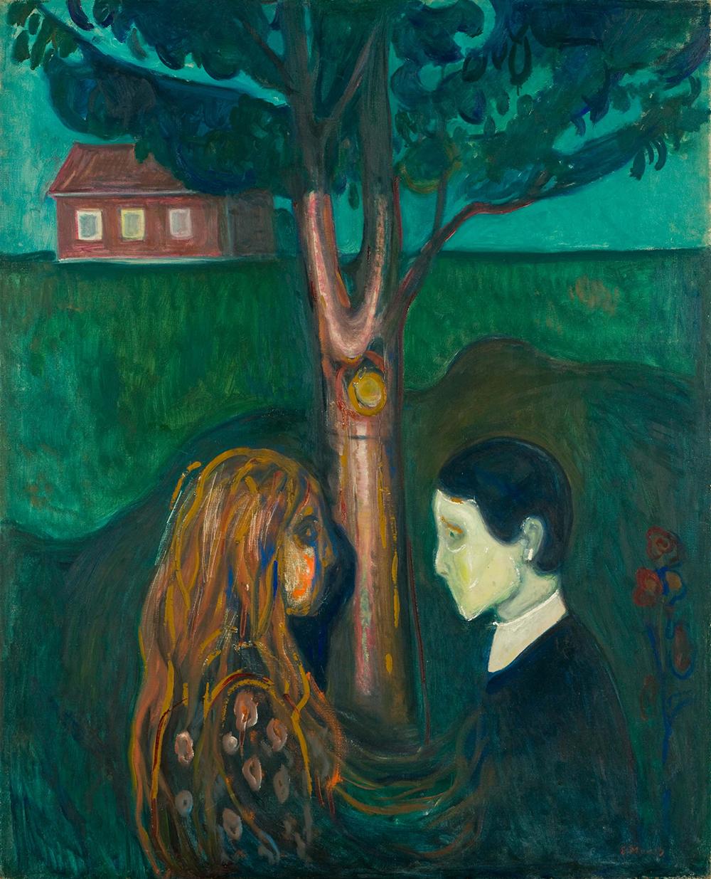 Edvard Munch. Eye to eye