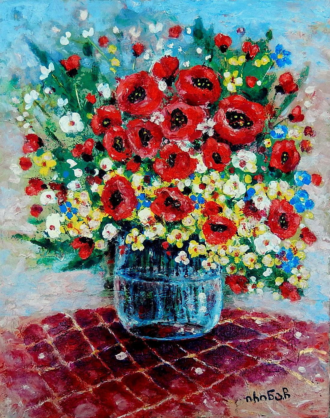 Irina Chitashvili. Flowers
