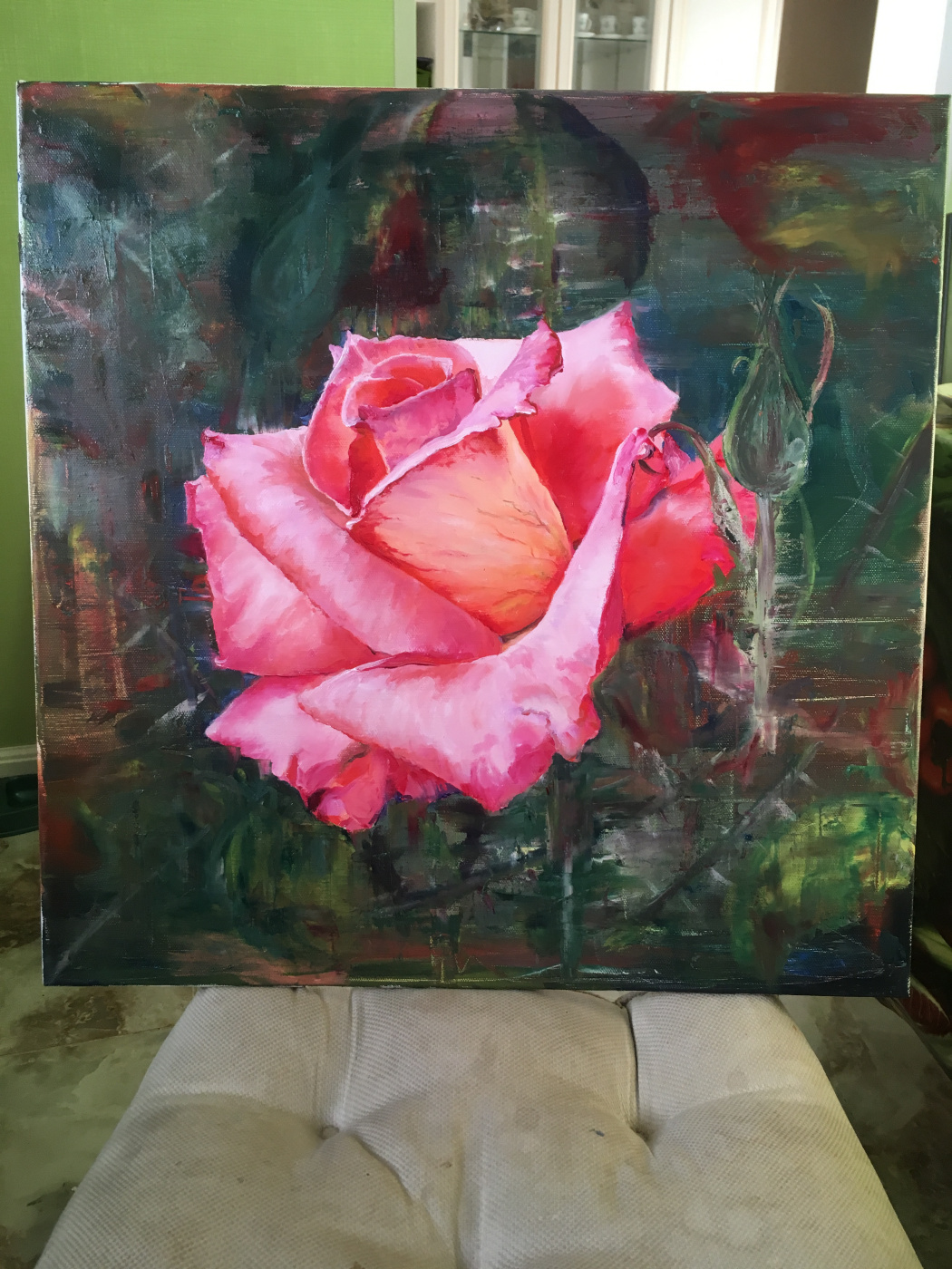Julia Merkushina. Rose flower