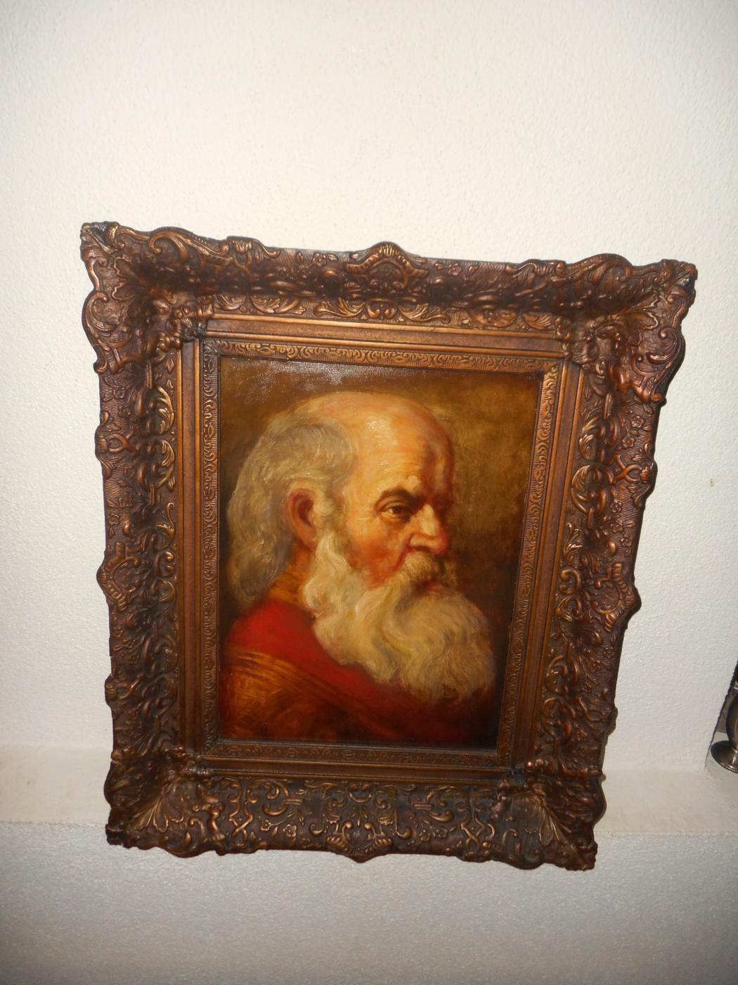 "Jan Theuns (1877-1961). ""Old Rembrandt"""