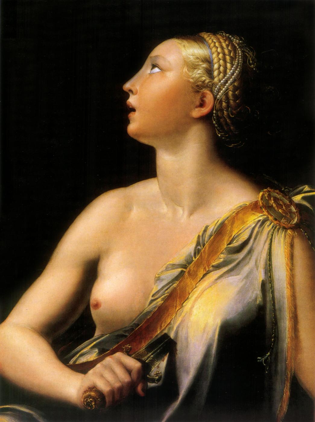Francesco Parmigianino. Lucrezia