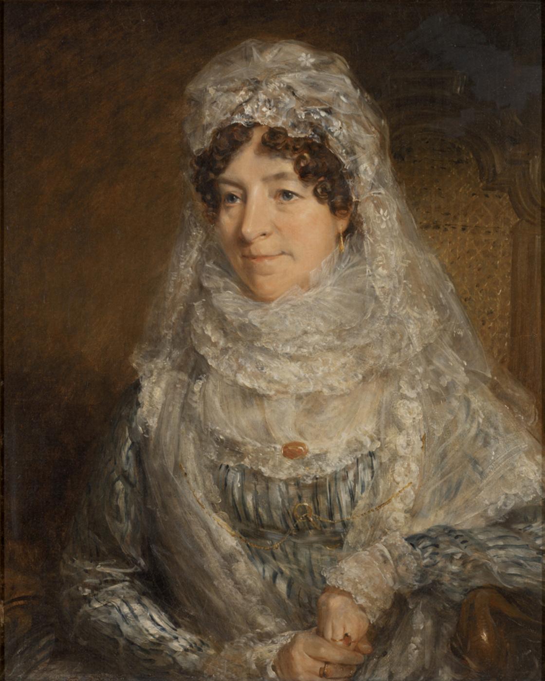 John Constable. Portrait of Mrs. Edwards