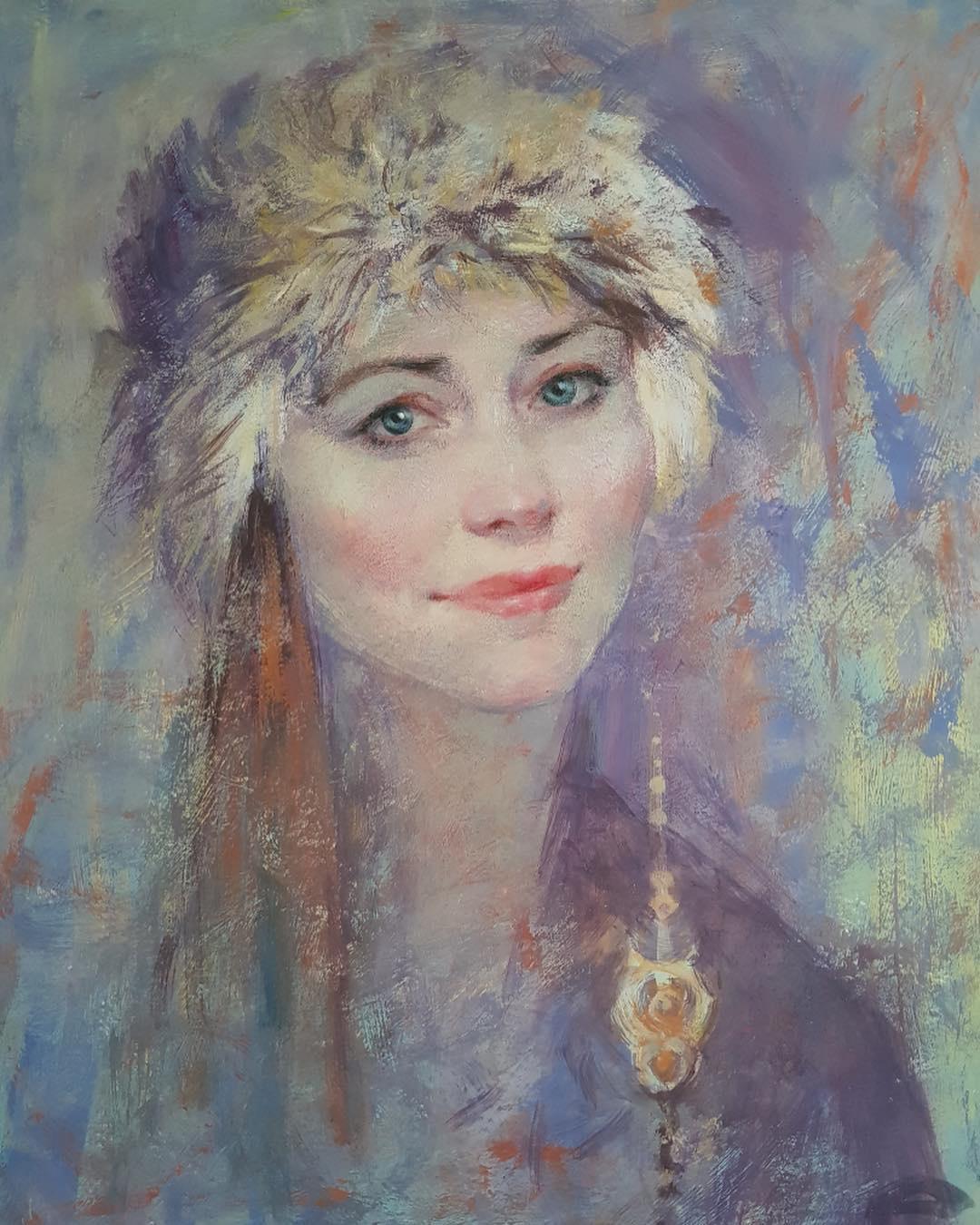 Ekaterina Blinova. Snow Maiden