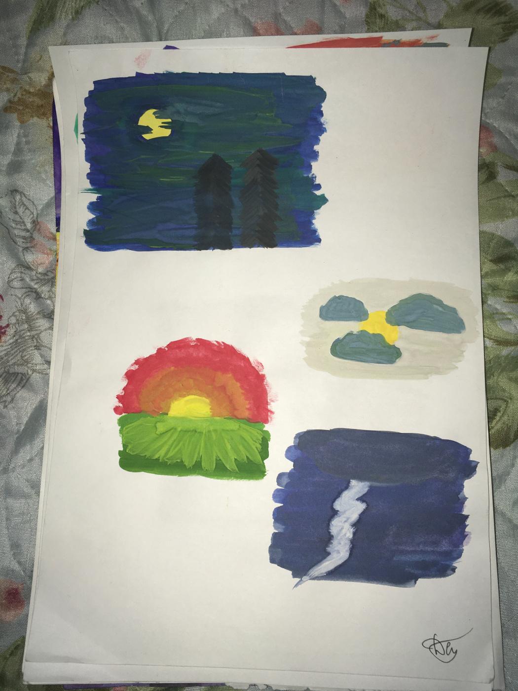 Dasha Patrakova. My works