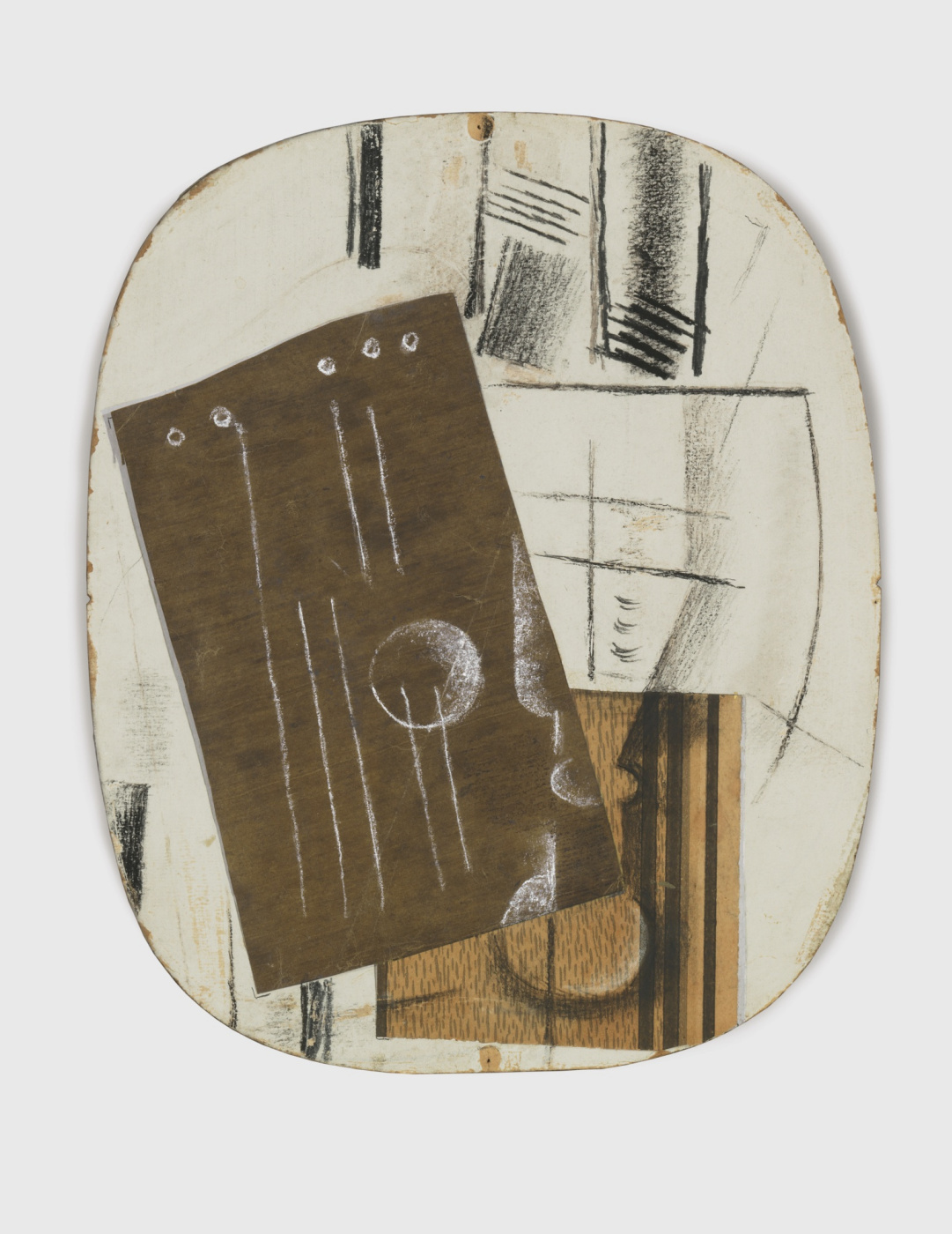 Georges Braque. Guitar and a glass of