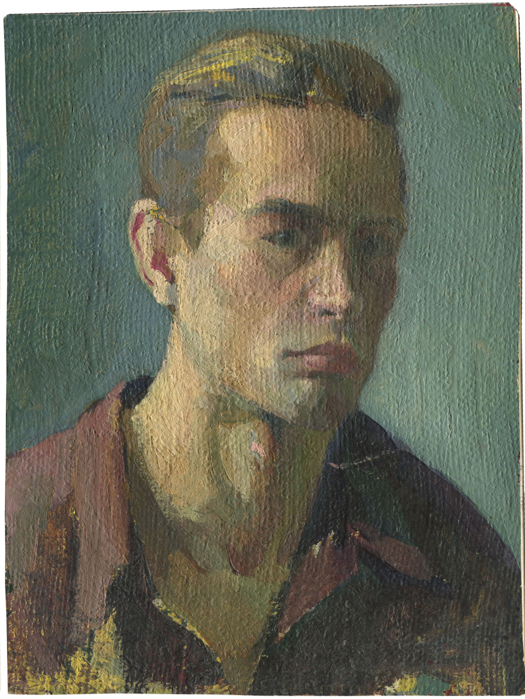 Alexandrovich Rudolf Pavlov. Self portrait 2. 1964