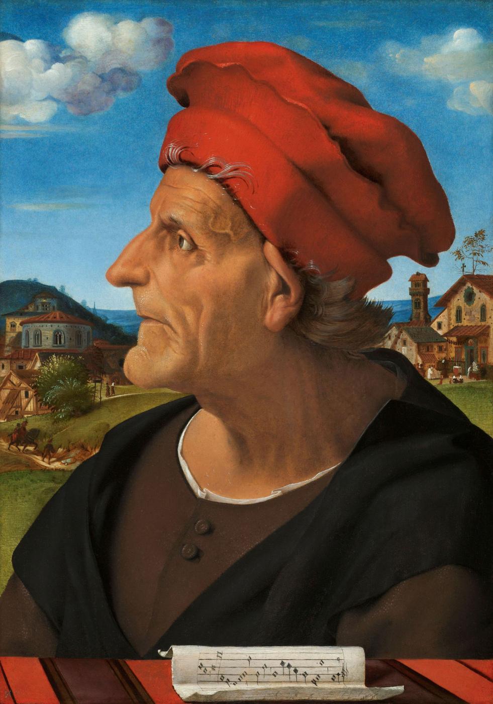 Piero di Cosimo. Portrait of Francesco Giamberti da Sangallo