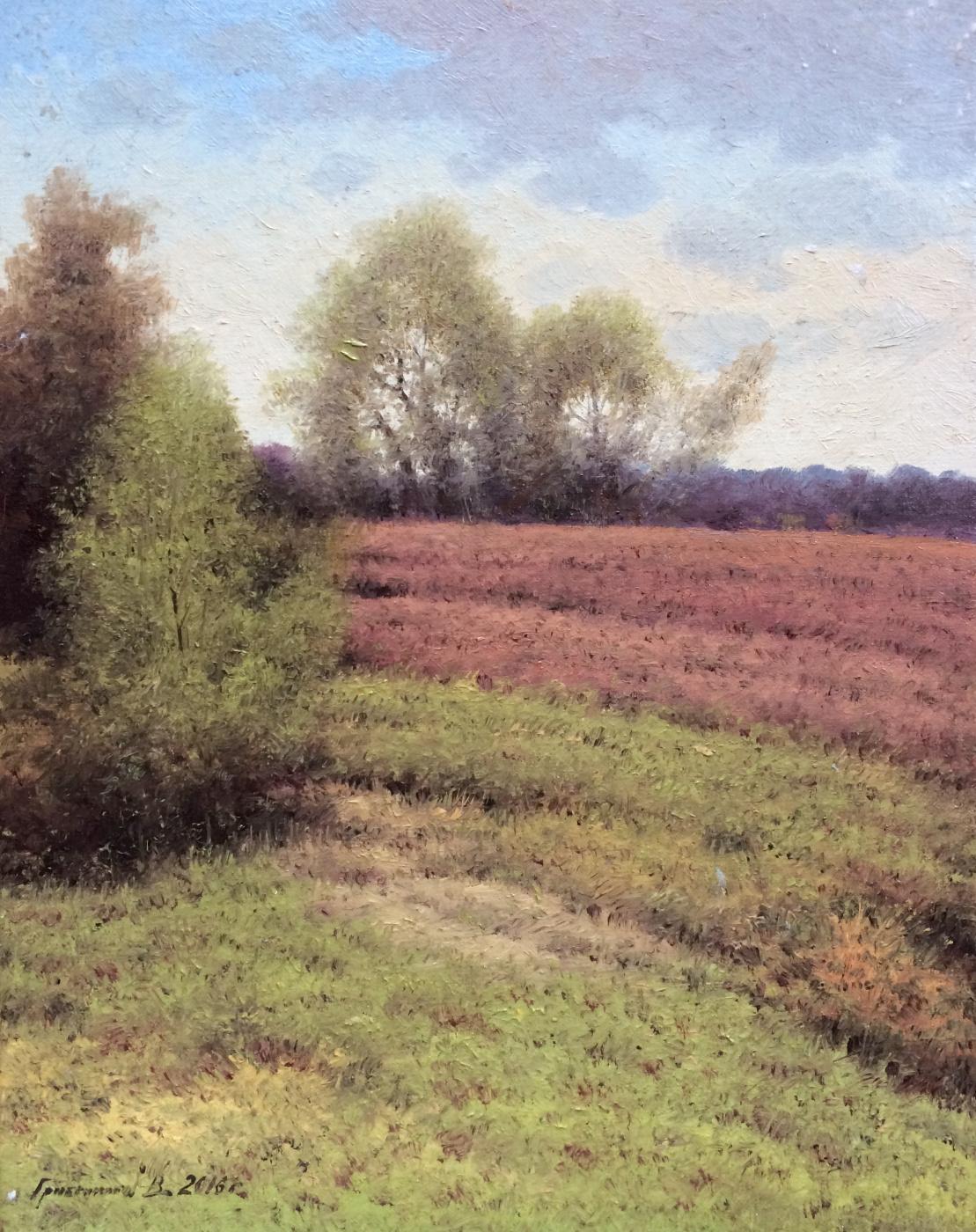 Vasily Ivanovich Gribennikov. Spring field