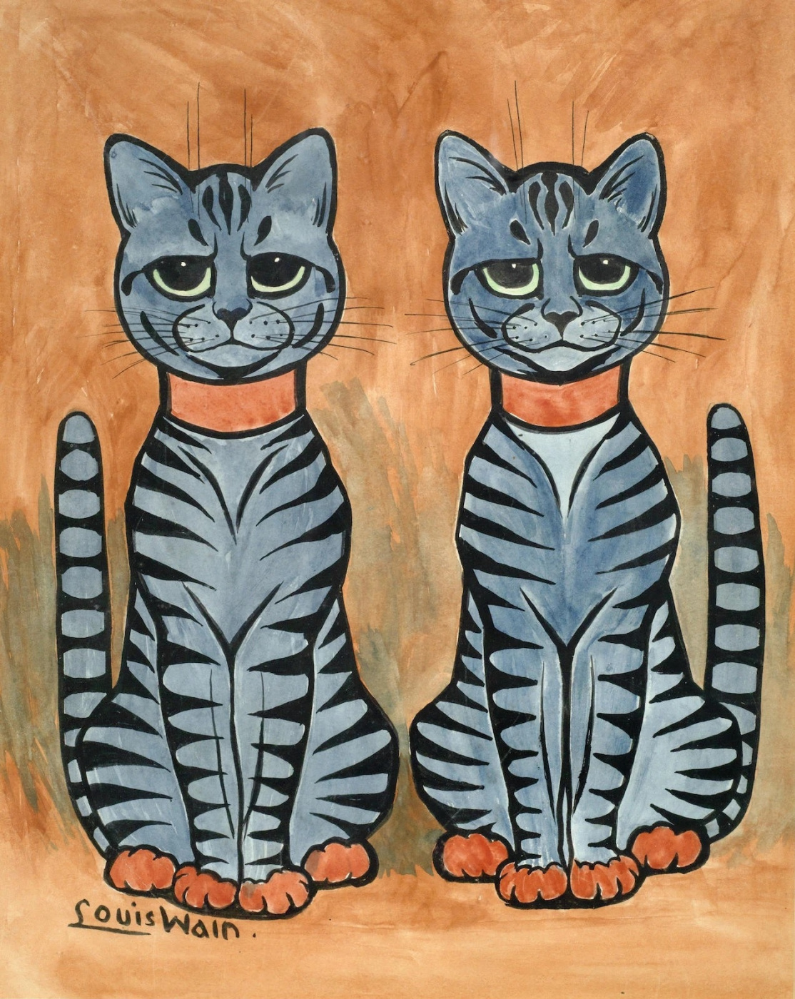 Louis Wain. Two