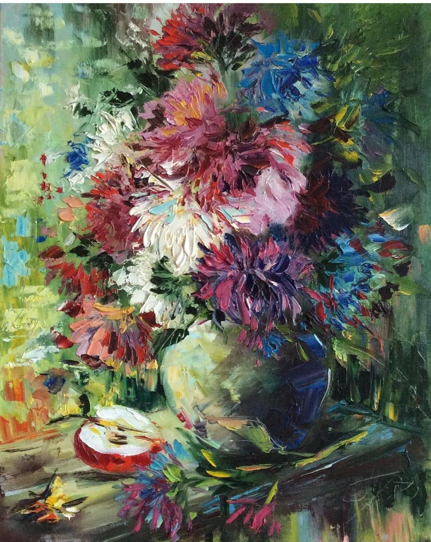 Julia Gennadievna Pinyaeva. Asters