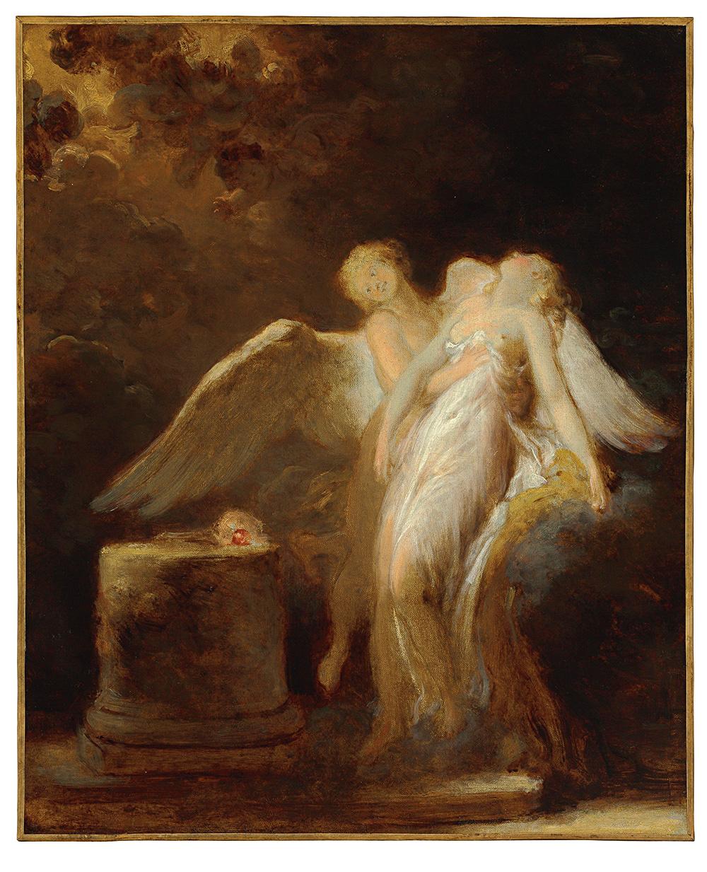 Jean-Honore Fragonard. Sacrifice Roses