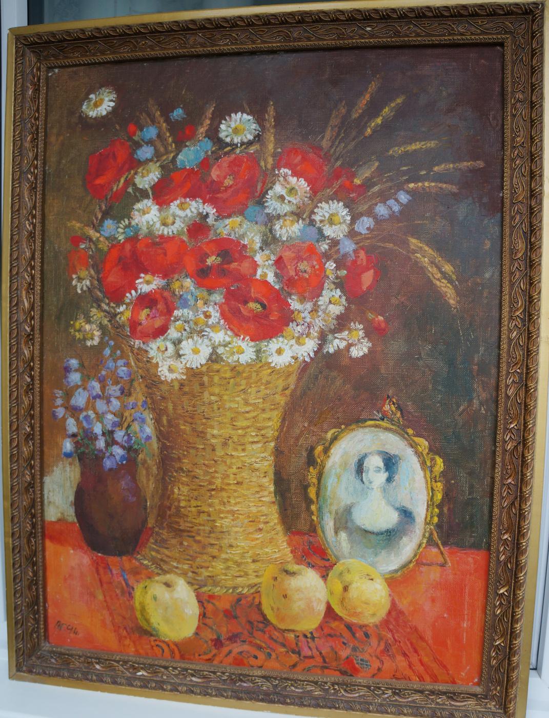 Elena Ivanovna Agafonova. Poppies