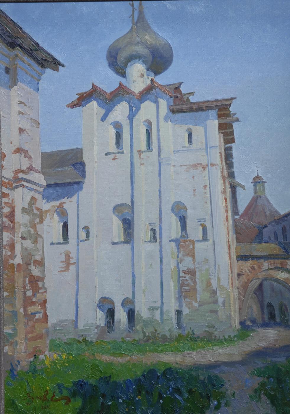 Евгений Бучнев. Holy Dormition refectory Church.Solovetsky monastery