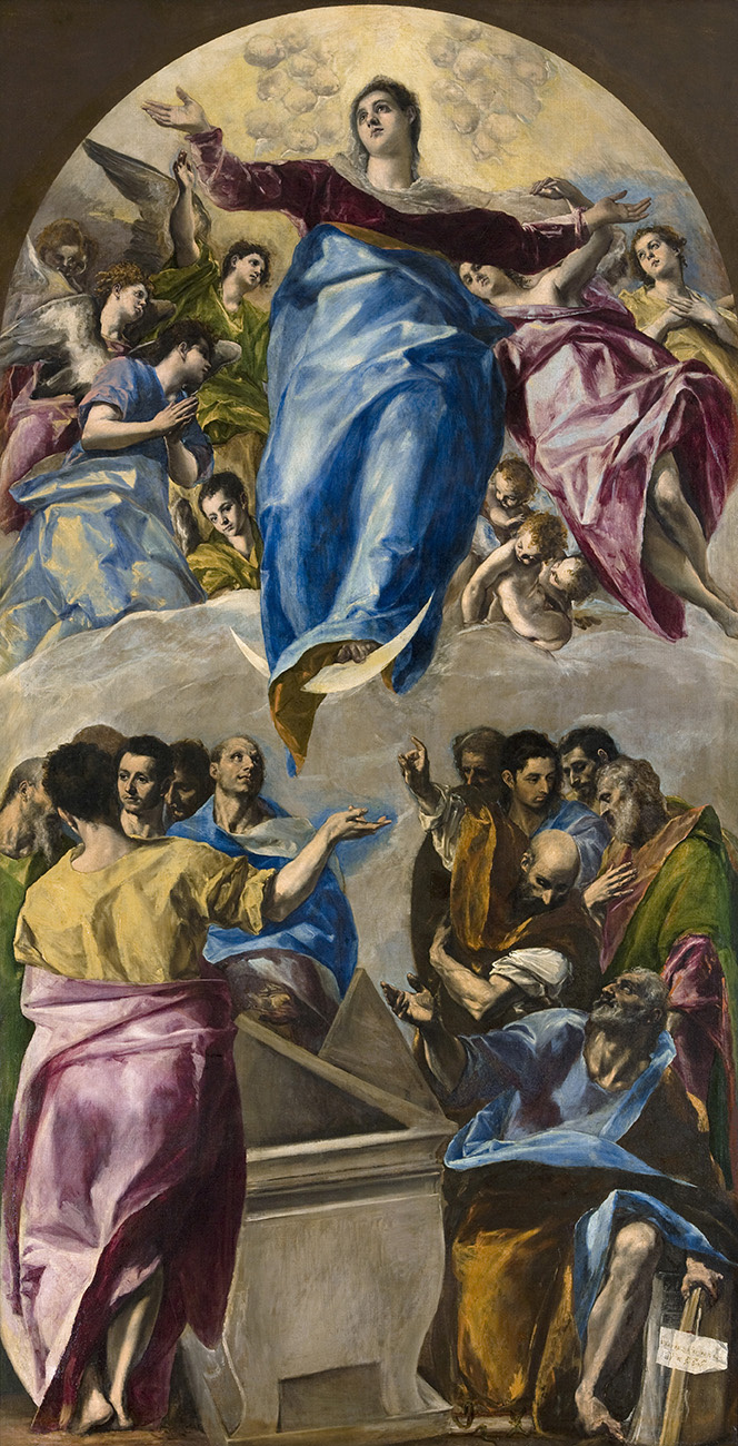 Domenico Theotokopoulos (El Greco). Assumption of the Virgin Mary