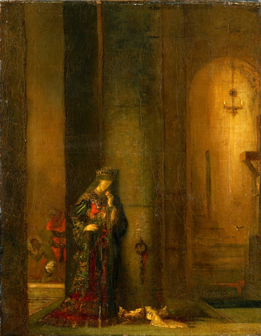 Gustave Moreau. Salome is in prison