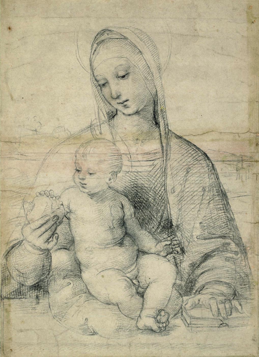 Raphael Sanzio. Madonna with a pomegranate