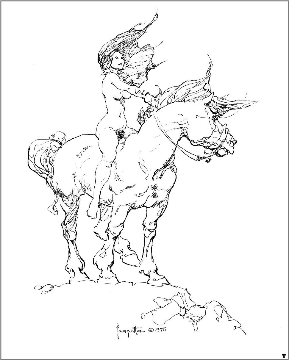 Frank Frazetta. Rider