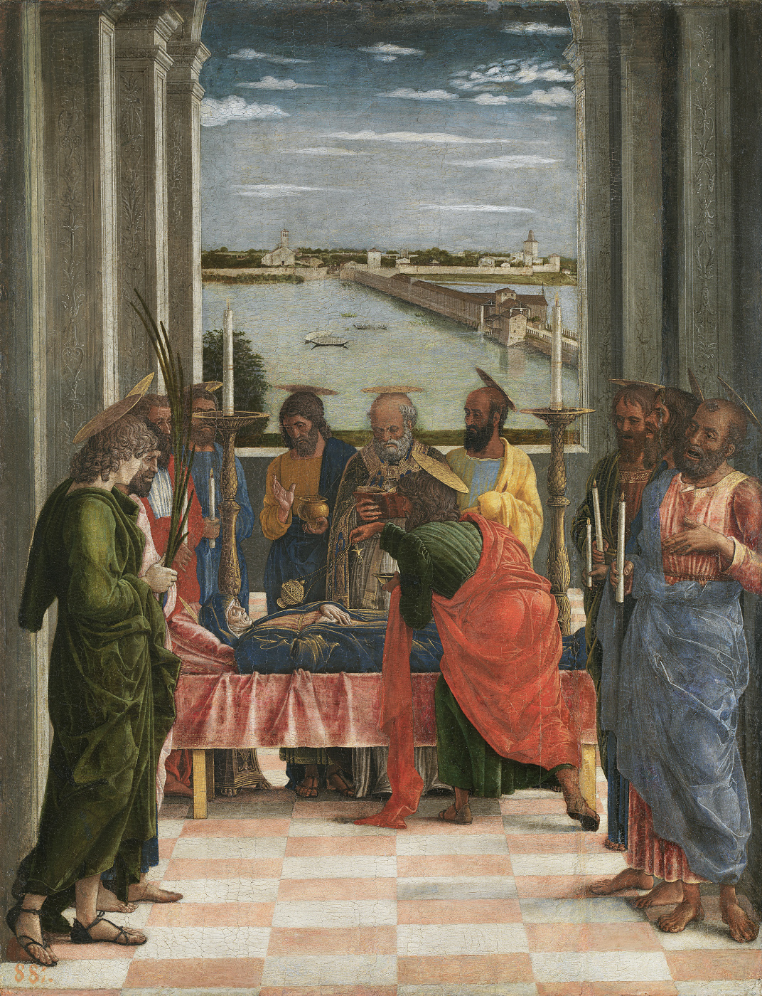 Andrea Mantegna. Assumption of the Virgin