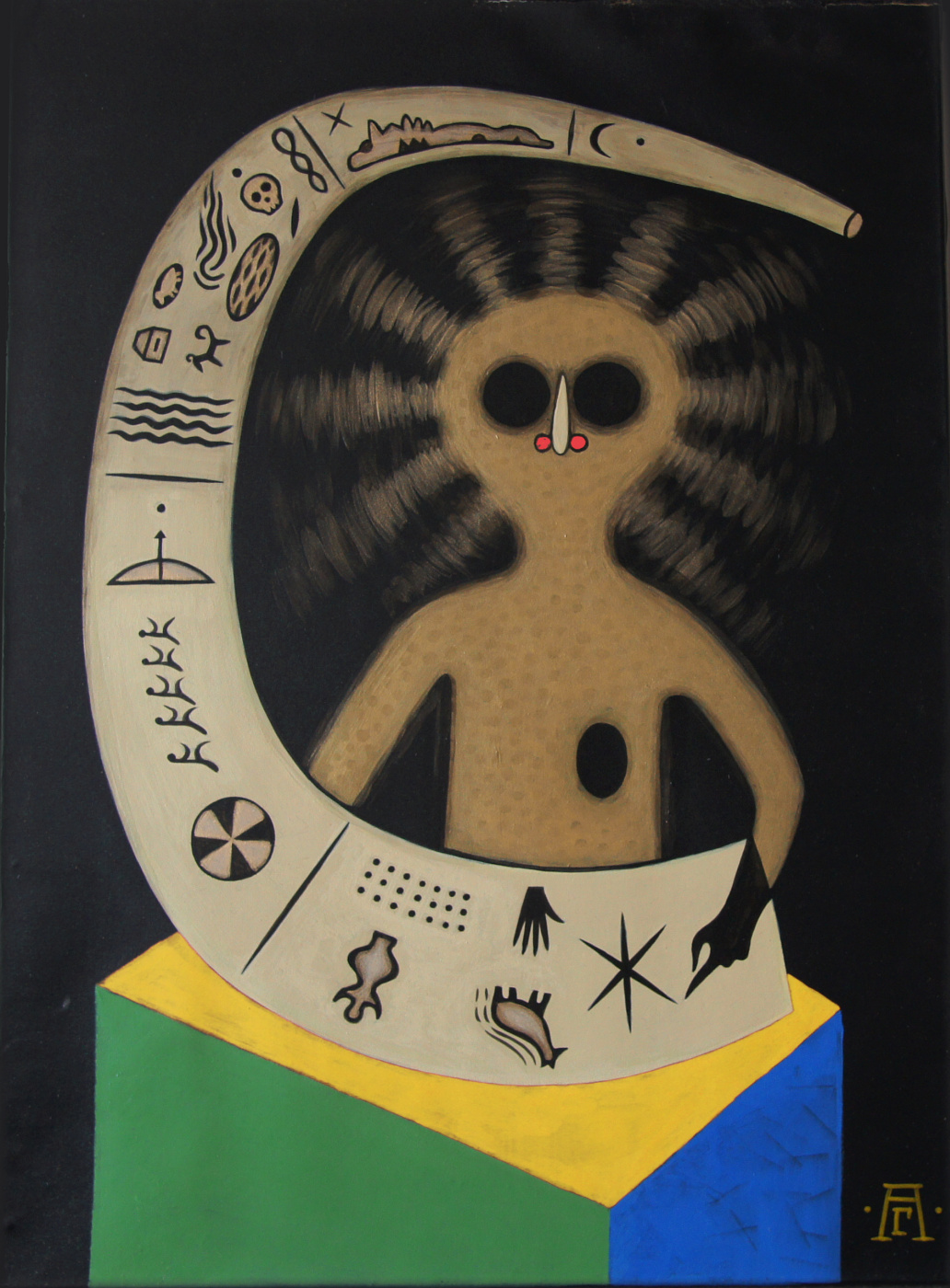 Alexander Hermesov. Ancestral spirit