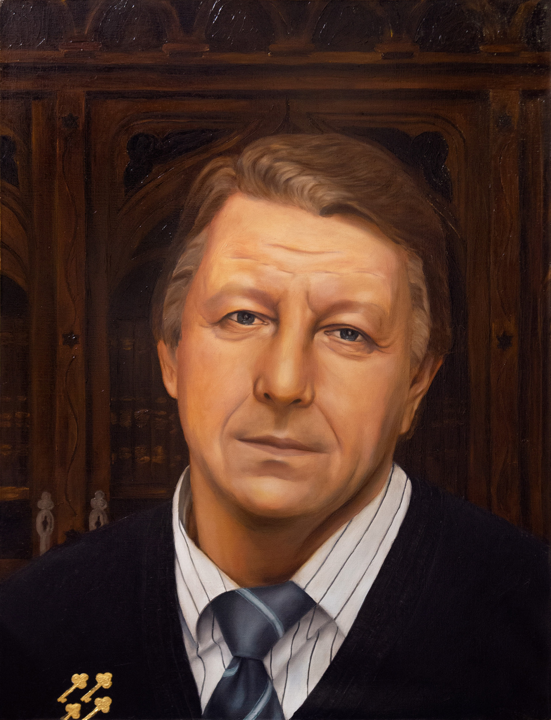 Andrey Vycheslavovich Surikov. Henry. At home.