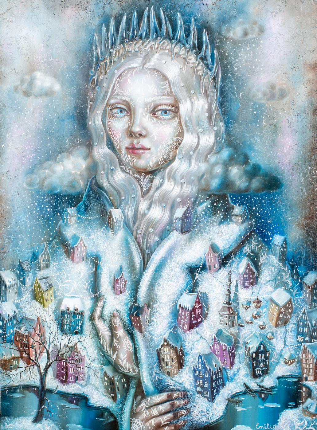 Emiliia Lynnyk. Frozen