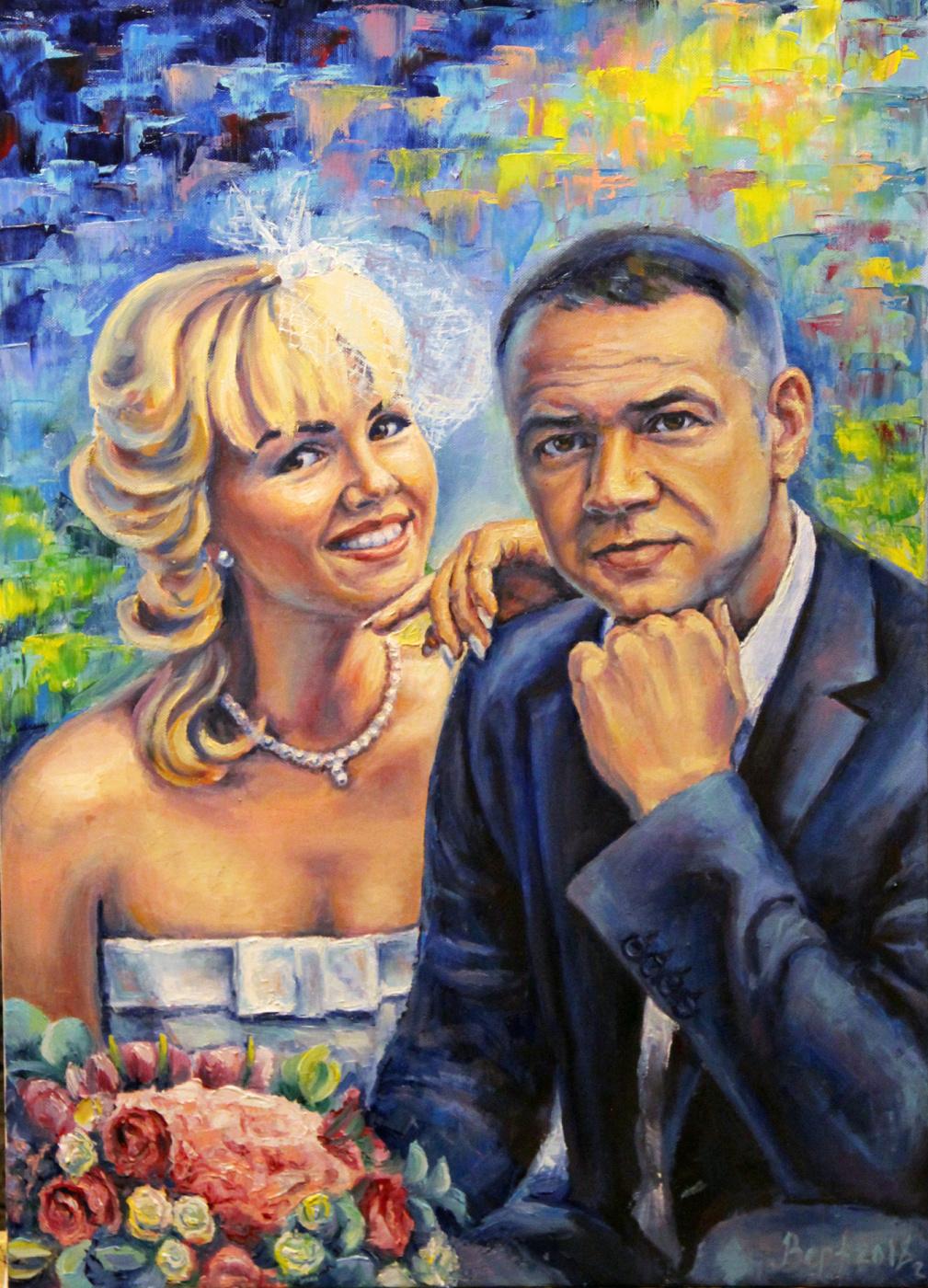 Alexandra Veretenova. Portrait to order