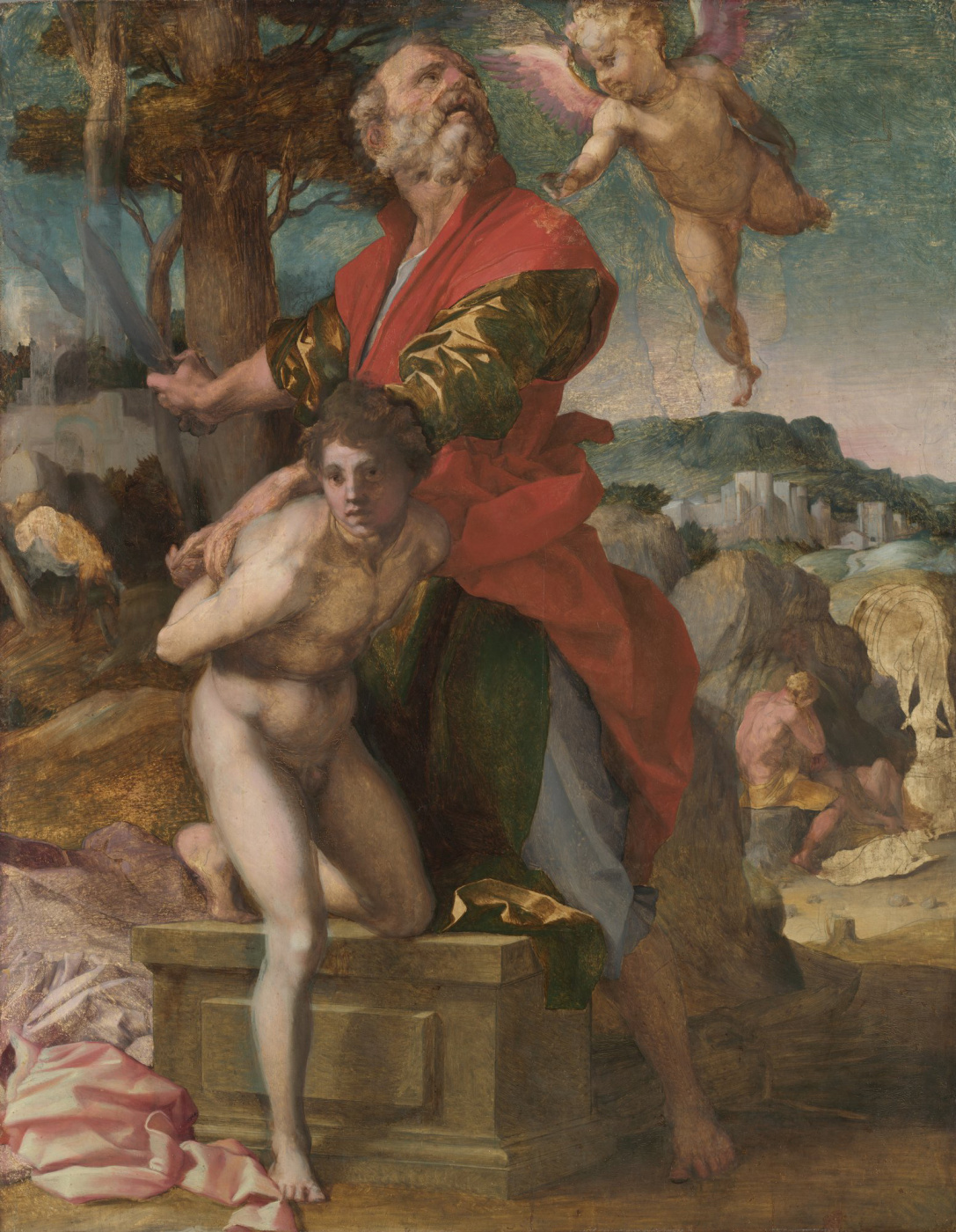 Andrea del Sarto. Isaac's Sacrifice