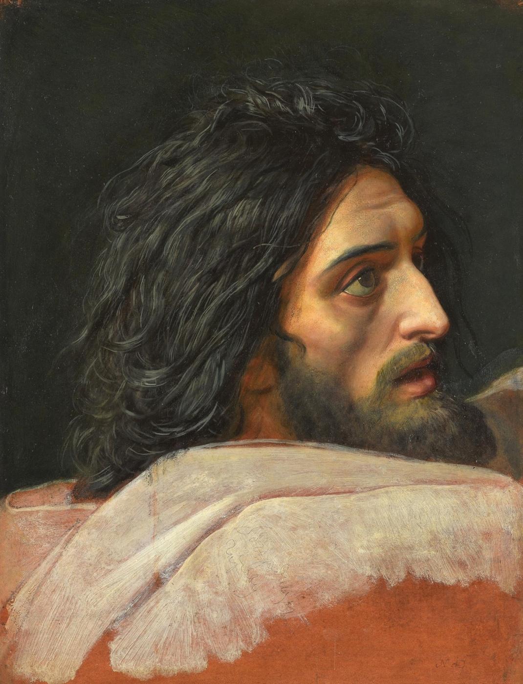 Alexander Andreevich Ivanov. Head of John the Baptist