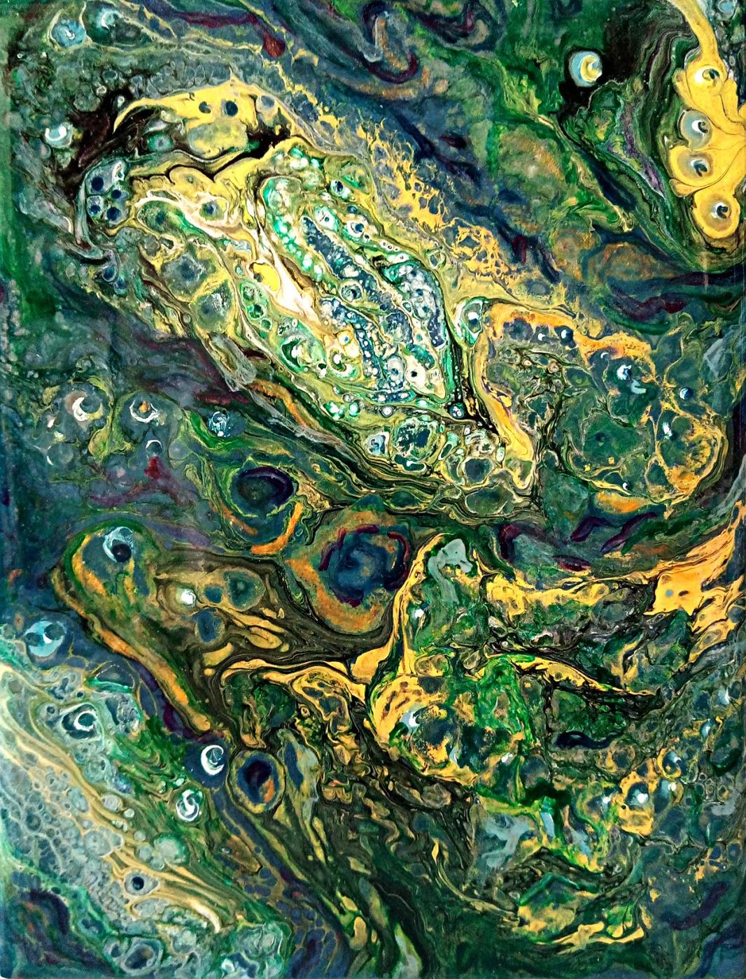 Vasiliy Mishchenko. Abstract 0177 Acrylic