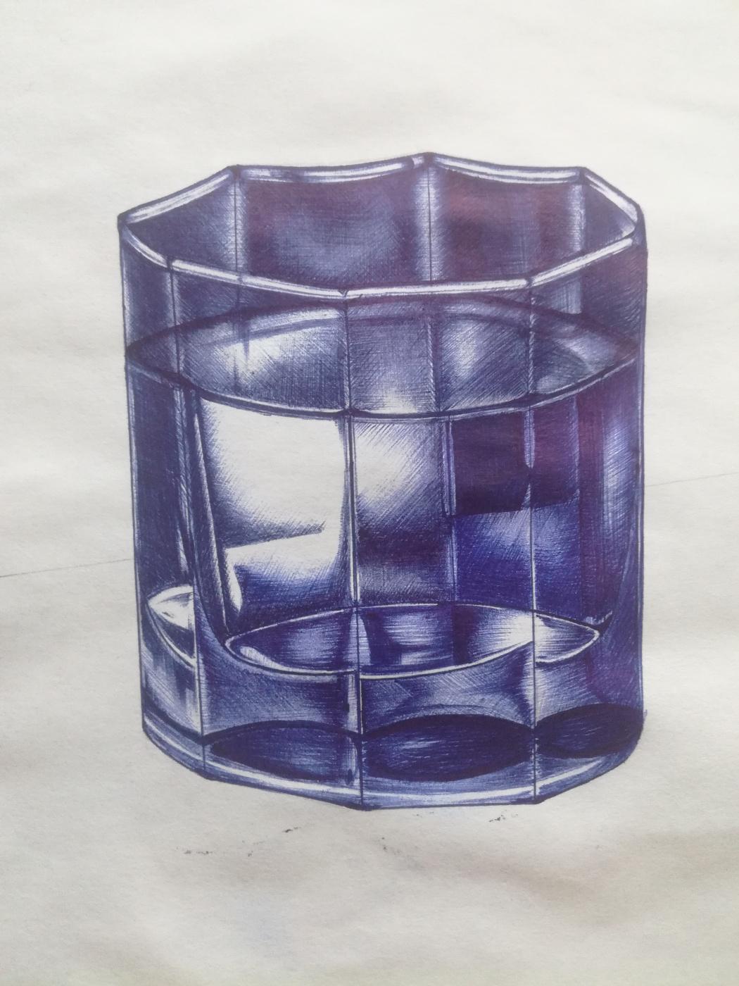 Alexey Olkhovatsky. Glass of water