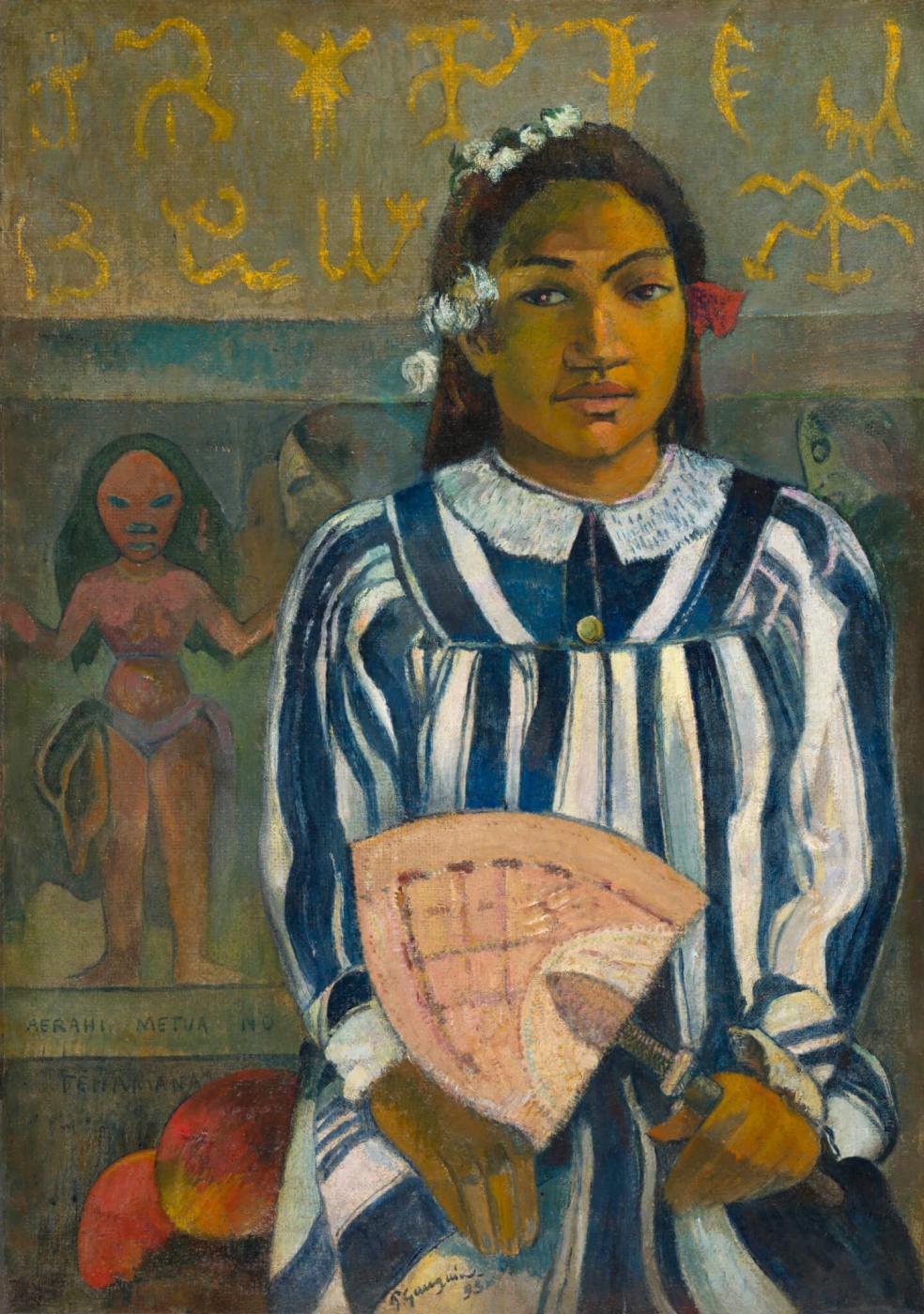 Paul Gauguin. Merahi metua no Tehamana (Tehamana Has Many Parents)