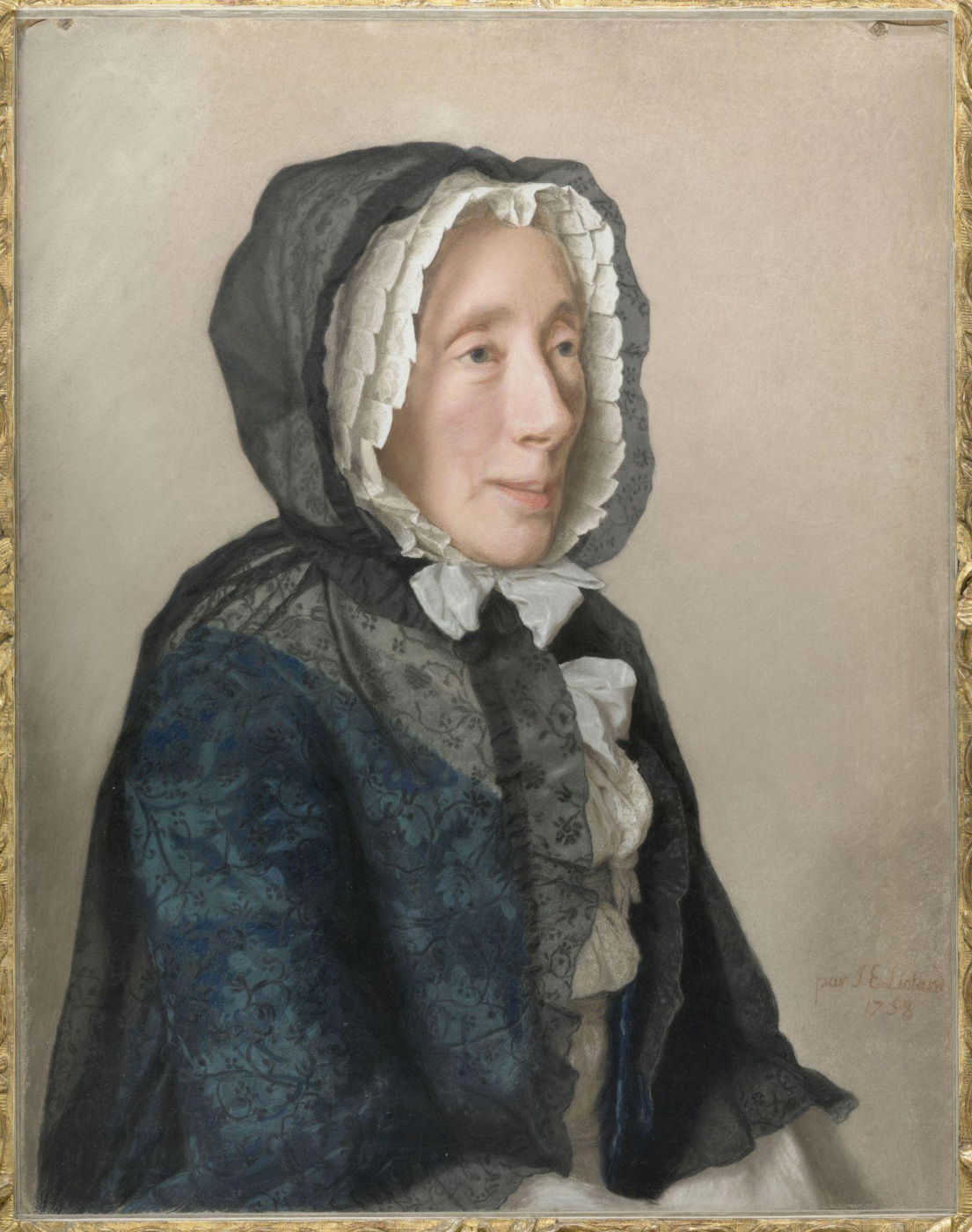 Jean-Etienne Liotard. Madame Jean Tronchin née Anne Molènes