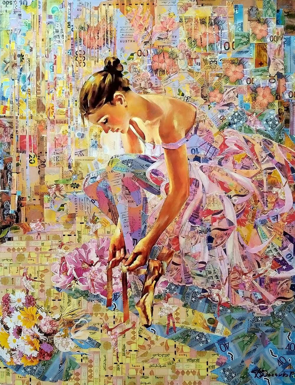 Roman Fedorovich Fedosenko. Dance of flowers