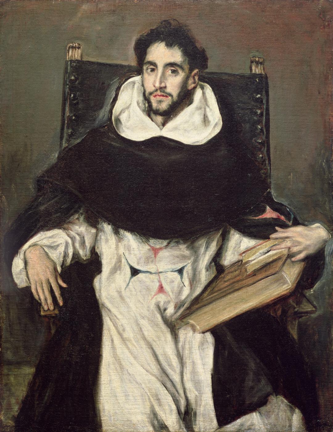 Эль Греко (Доменико Теотокопули). Портрет брата Гортензио