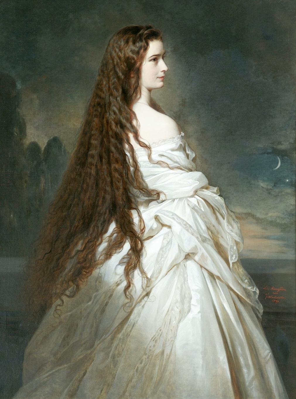 Franz Xaver Winterhalter. Empress Elizabeth of Austria