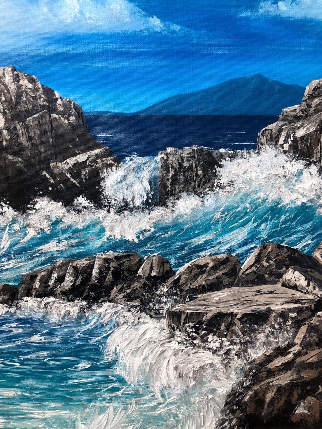 Anastasia Sentyabova. Sound of waves